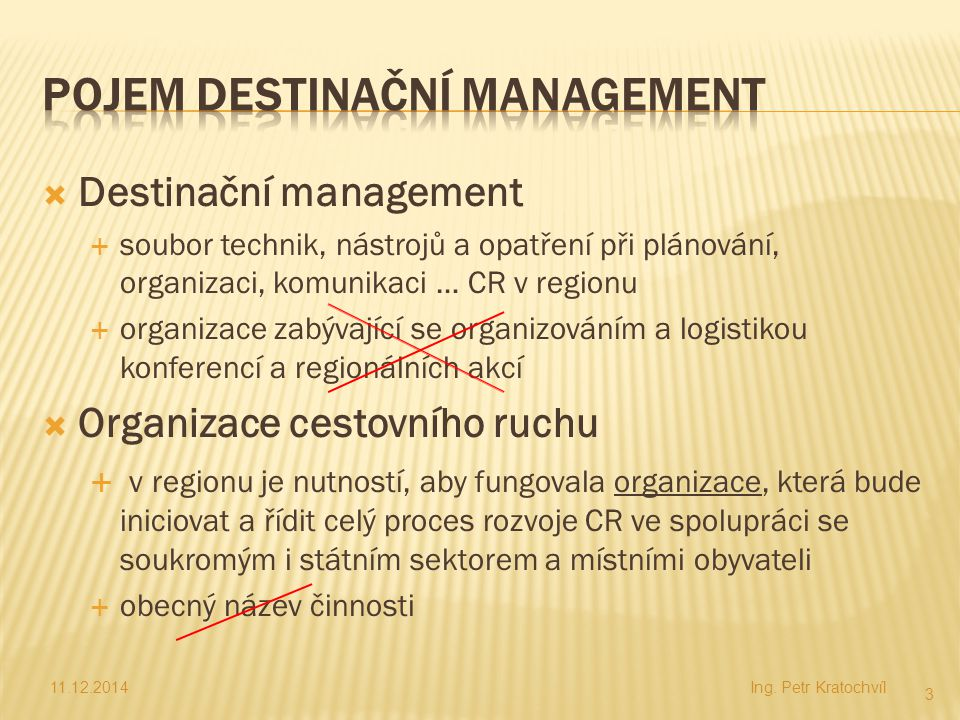 POJEM Destinační Management