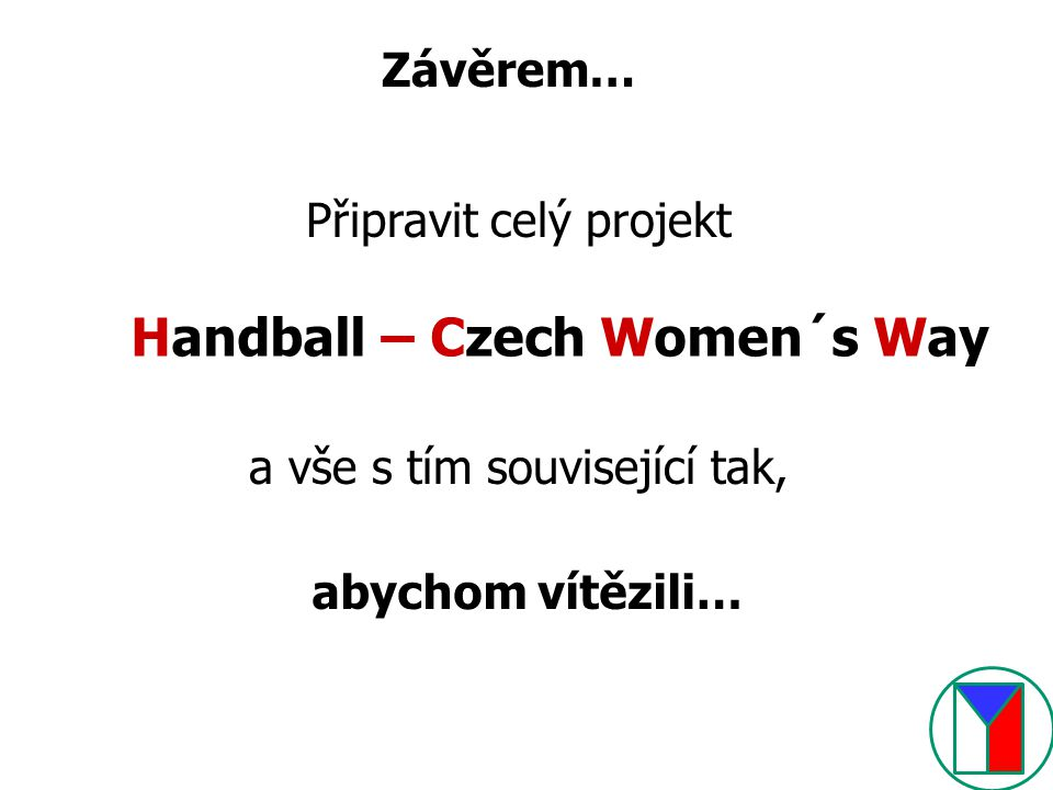 Handball – Czech Women´s Way