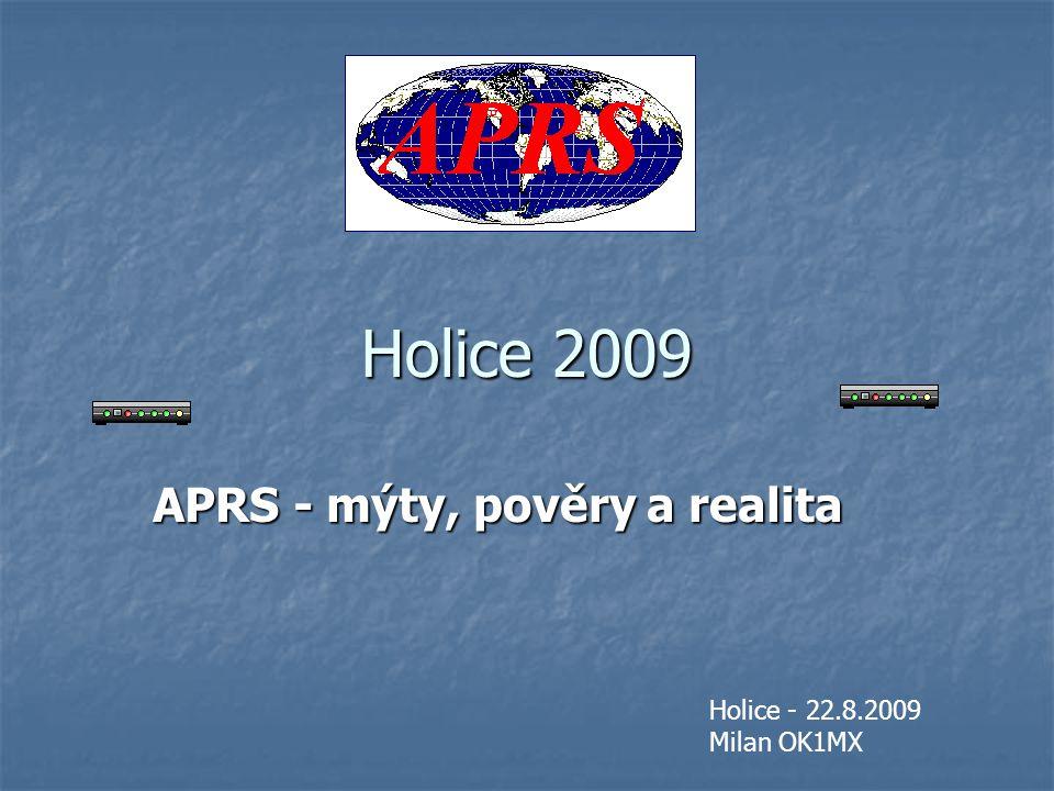 APRS - mýty, pověry a realita