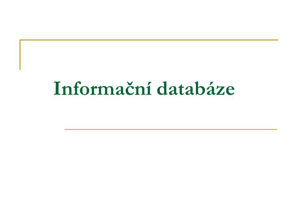 Informační databáze