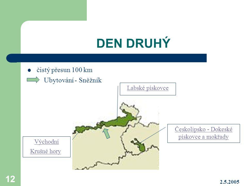 Českolipsko - Dokeské pískovce a mokřady