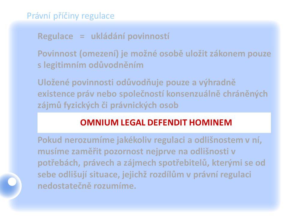 OMNIUM LEGAL DEFENDIT HOMINEM