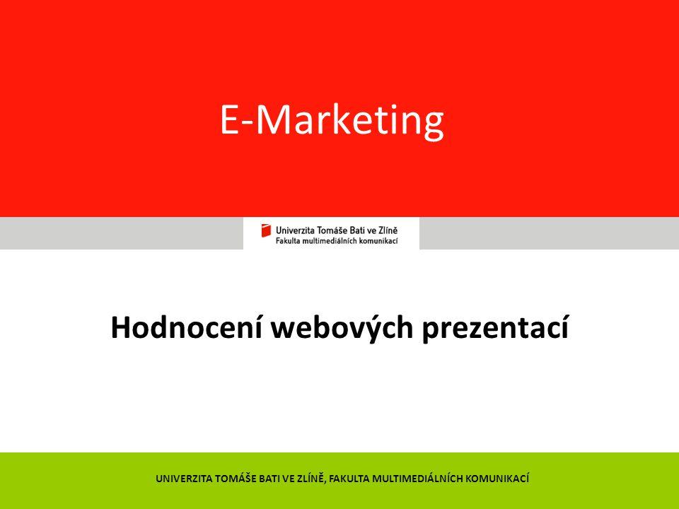 Hodnocení webových prezentací