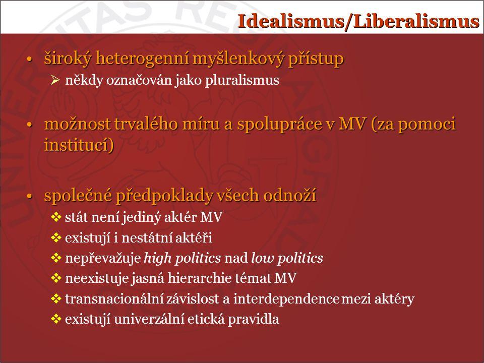 Idealismus/Liberalismus