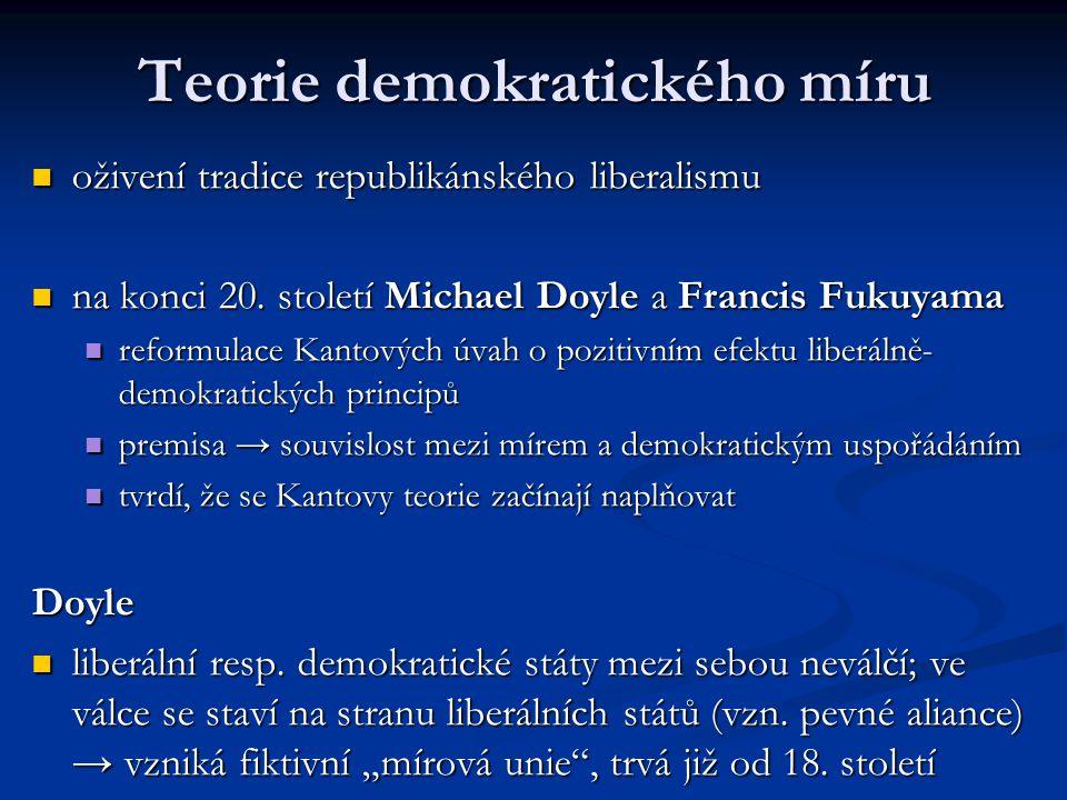 Teorie demokratického míru
