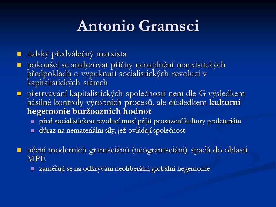 Antonio Gramsci italský předválečný marxista