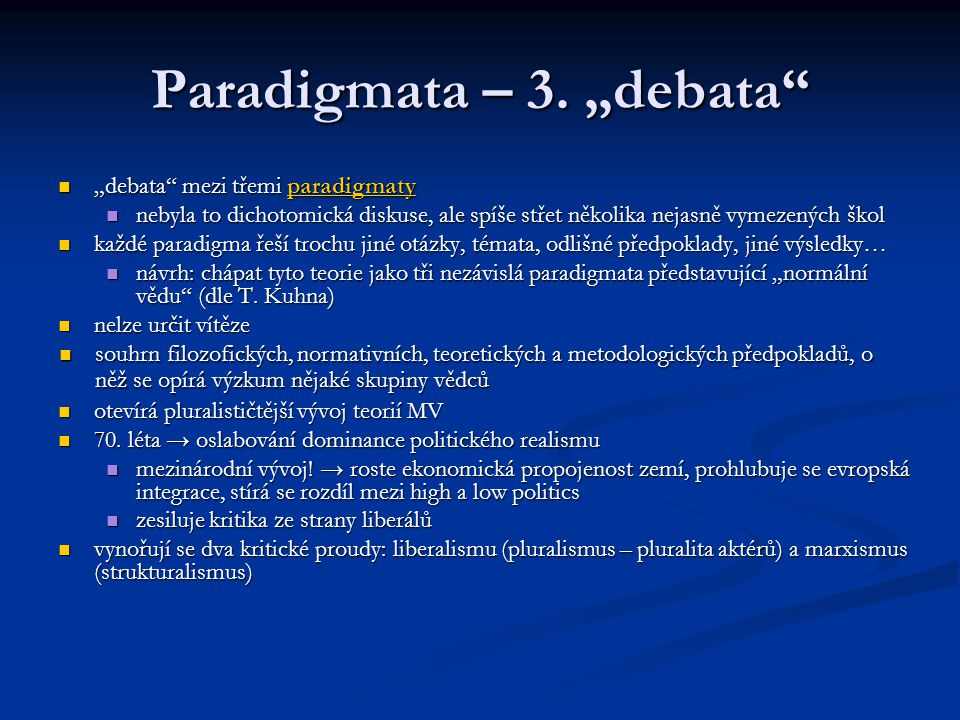 "Paradigmata – 3. ""debata"