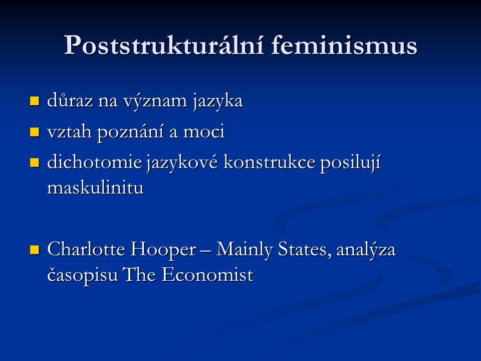 Poststrukturální feminismus