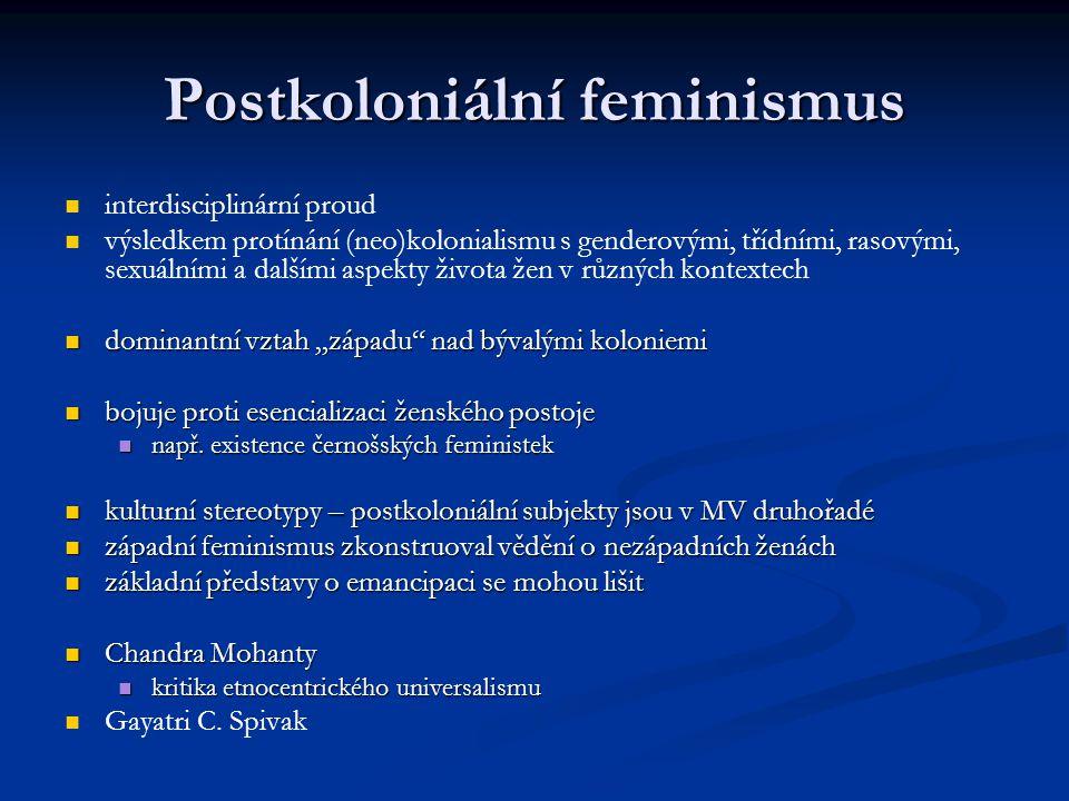 Postkoloniální feminismus