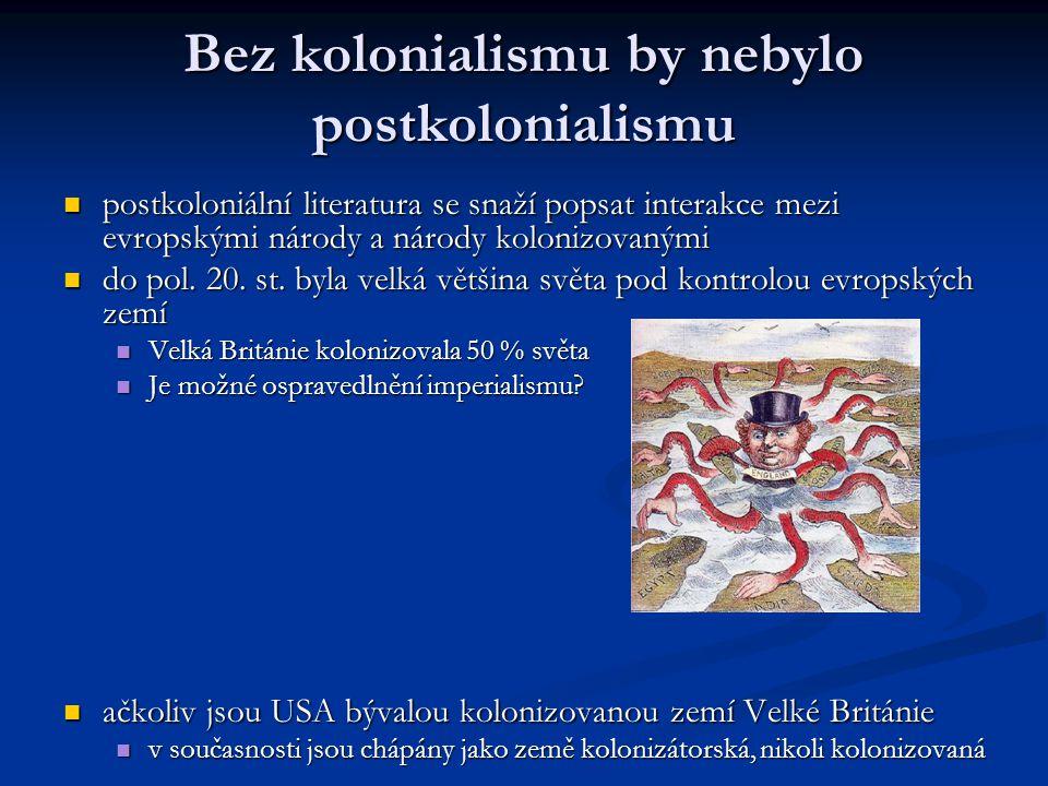Bez kolonialismu by nebylo postkolonialismu