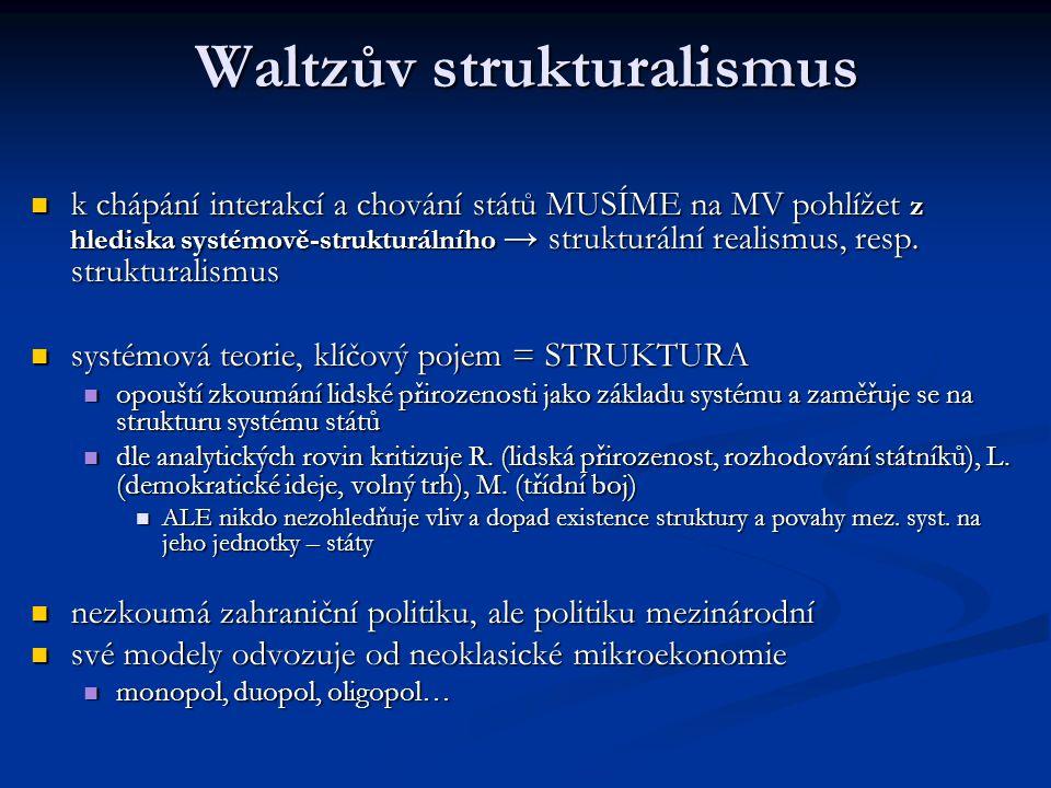 Waltzův strukturalismus