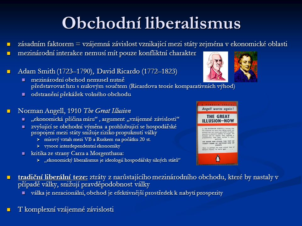 Obchodní liberalismus