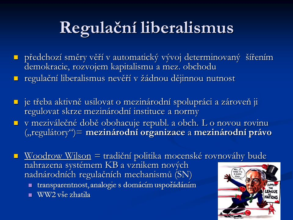 Regulační liberalismus