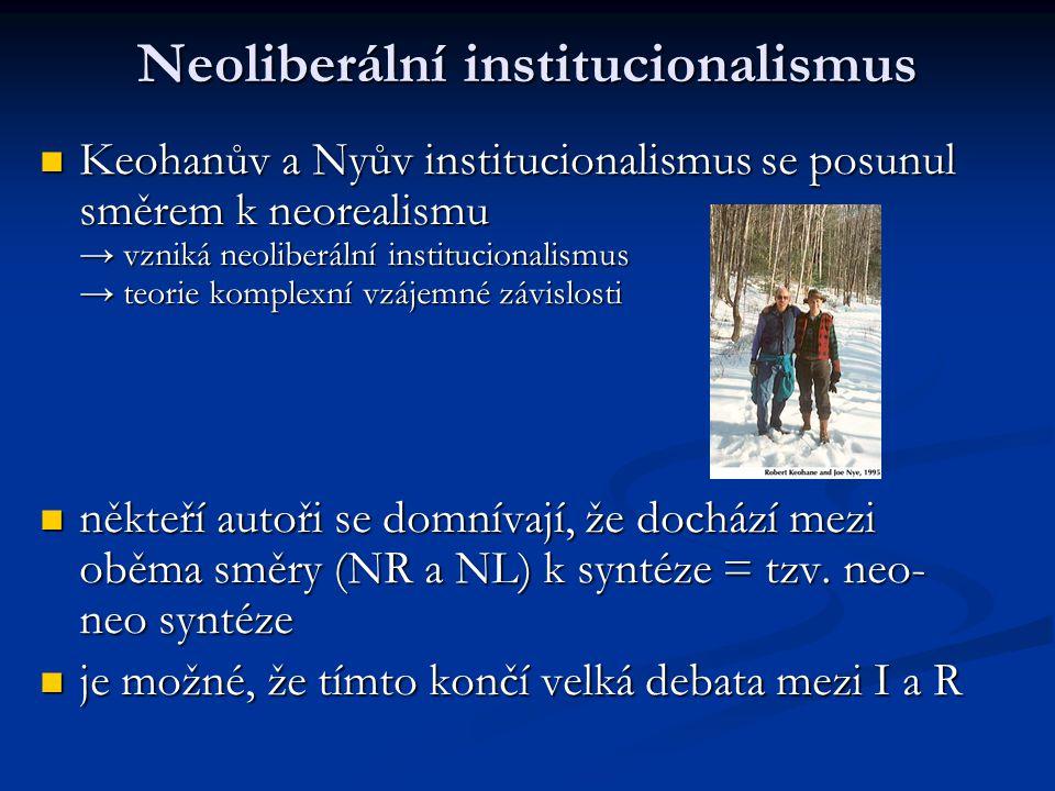 Neoliberální institucionalismus
