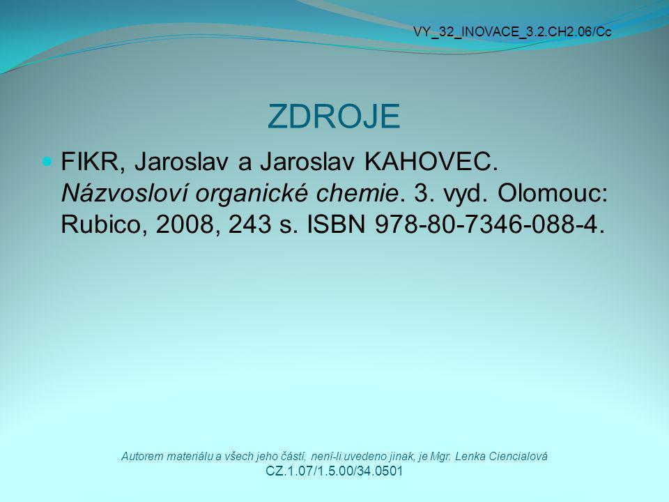 VY_32_INOVACE_3.2.CH2.06/Cc ZDROJE.