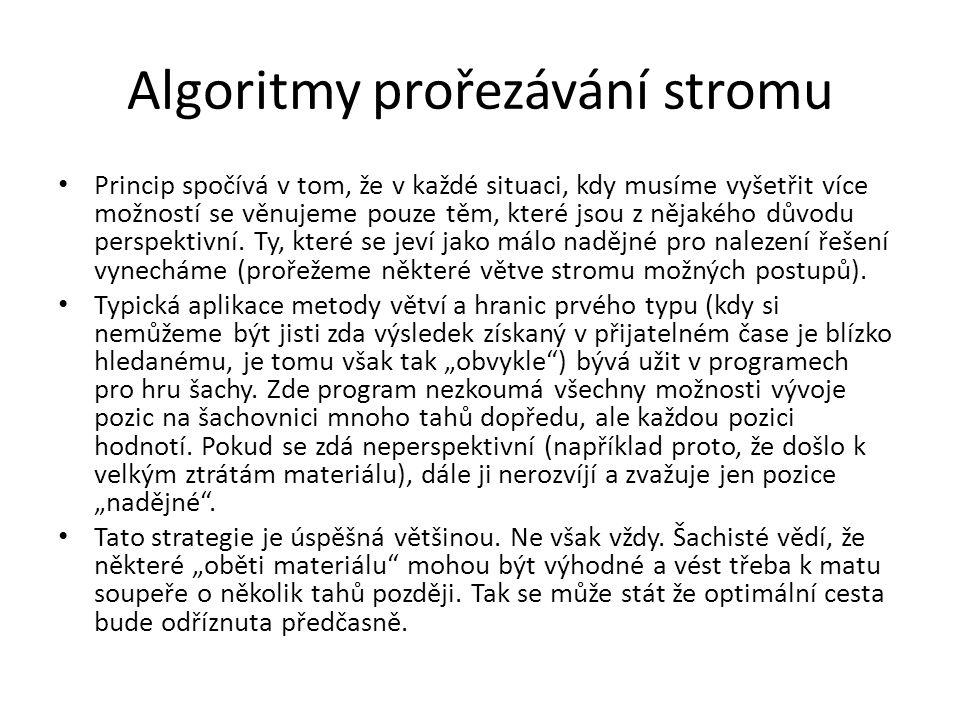 Algoritmy prořezávání stromu