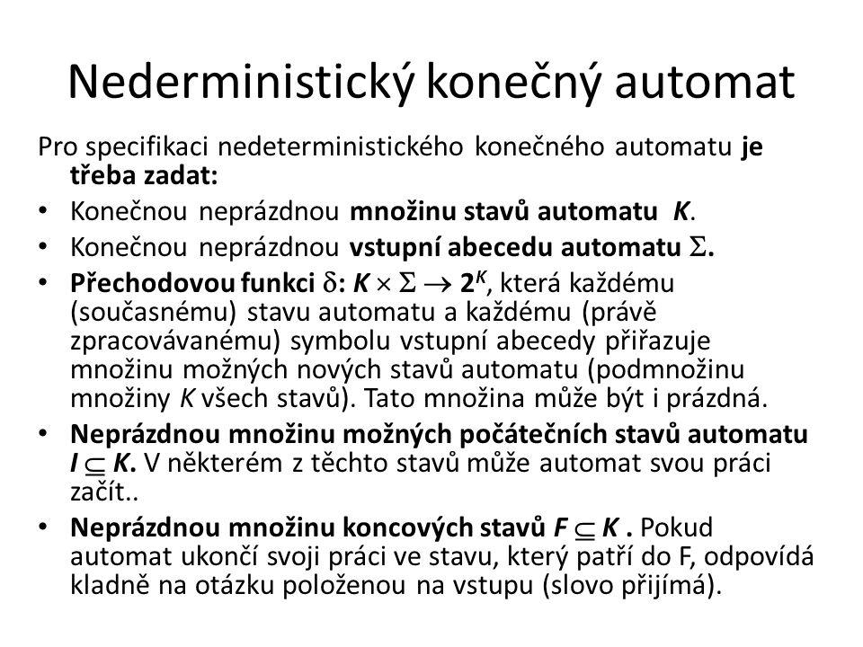 Nederministický konečný automat