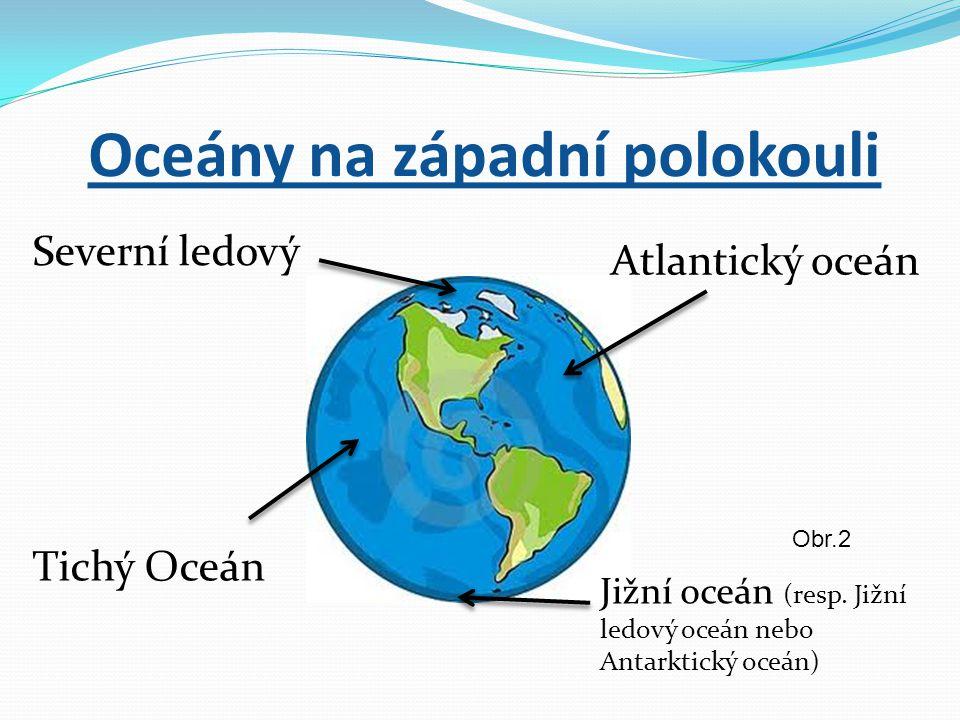 Oceány na západní polokouli