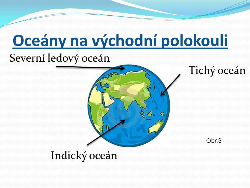 Oceány na východní polokouli