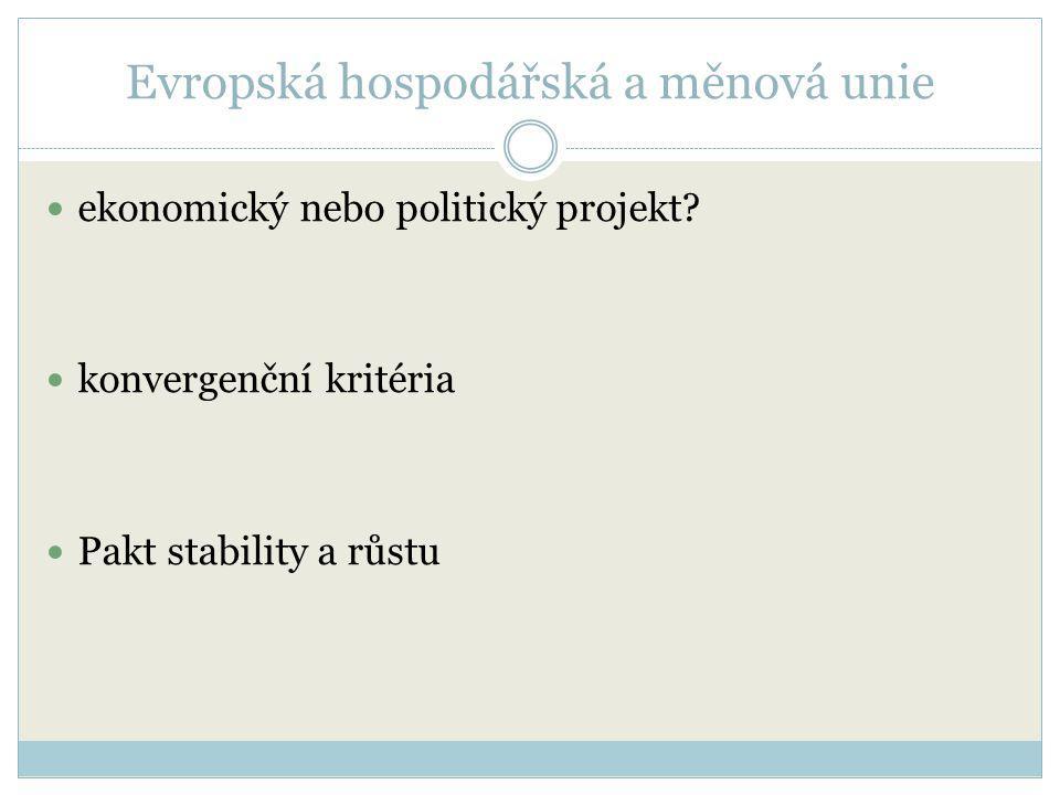 Evropská hospodářská a měnová unie