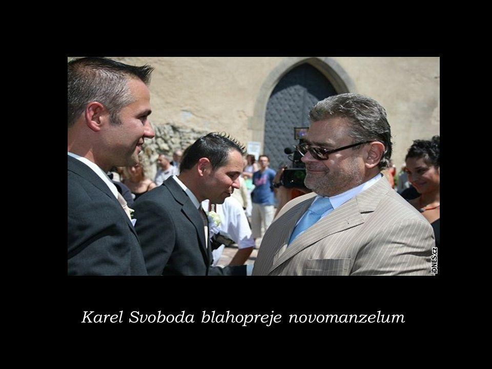 Karel Svoboda blahopreje novomanzelum