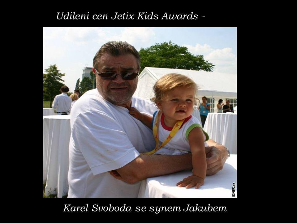 Udileni cen Jetix Kids Awards -