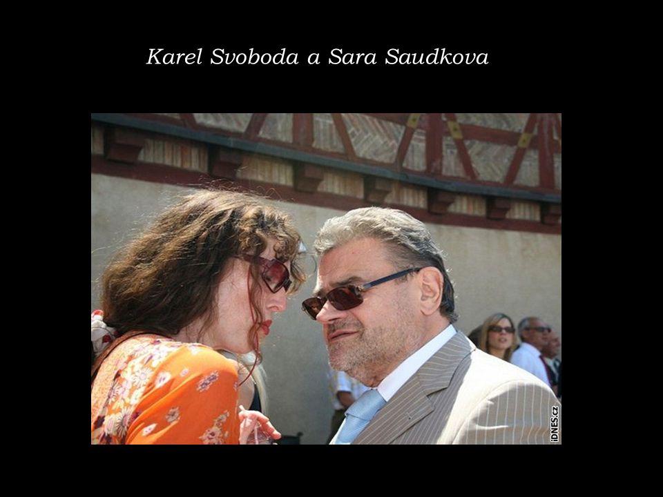 Karel Svoboda a Sara Saudkova