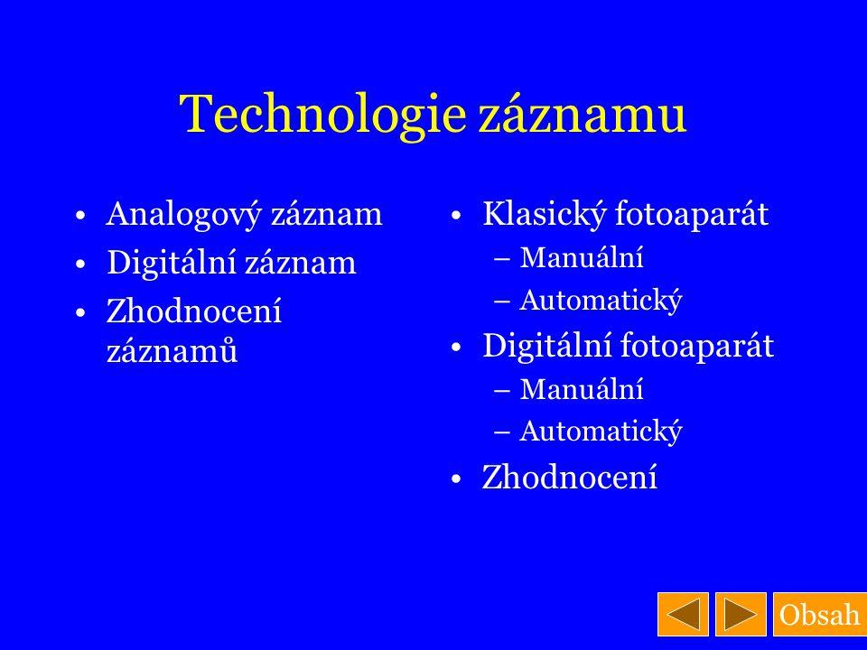 Digitální videokamery a fotoaparáty