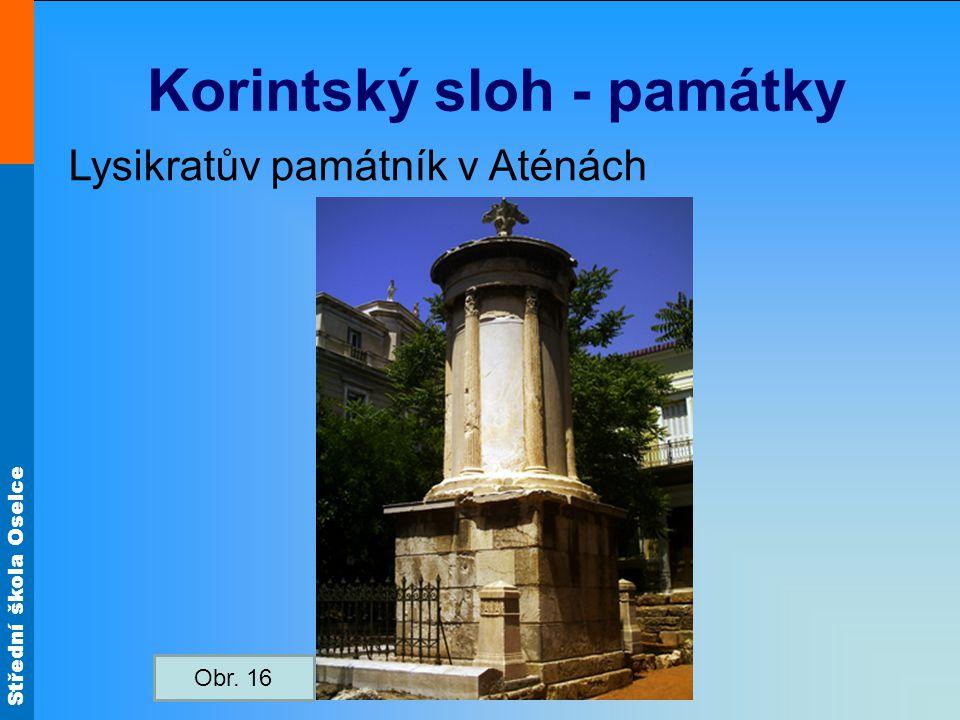 Korintský sloh - památky