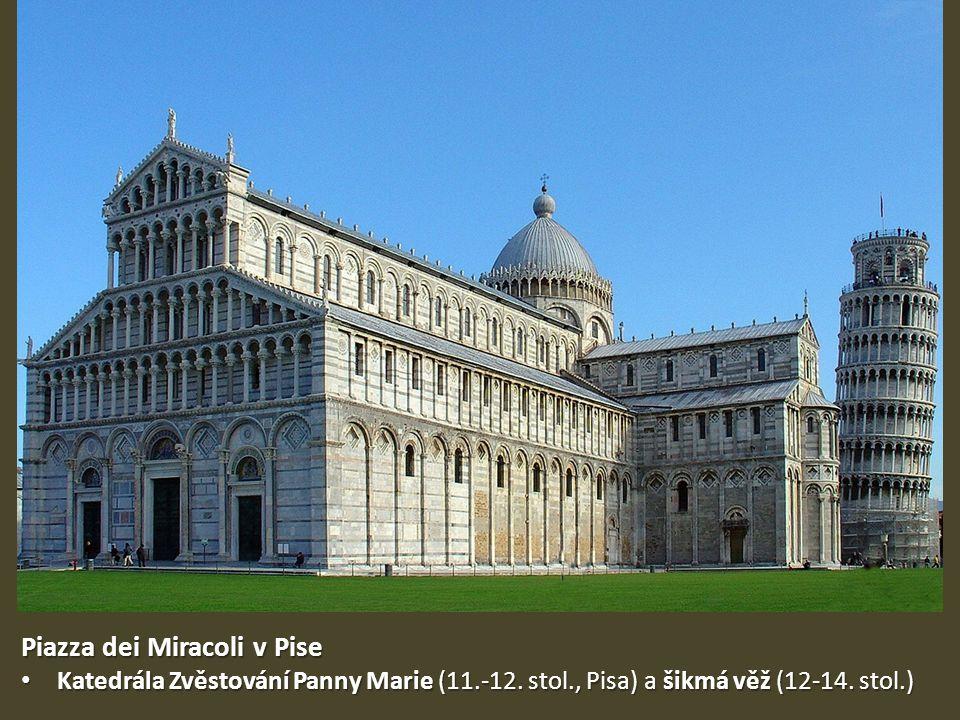 Piazza dei Miracoli v Pise