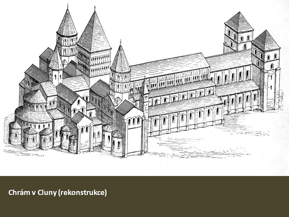 Chrám v Cluny (rekonstrukce)