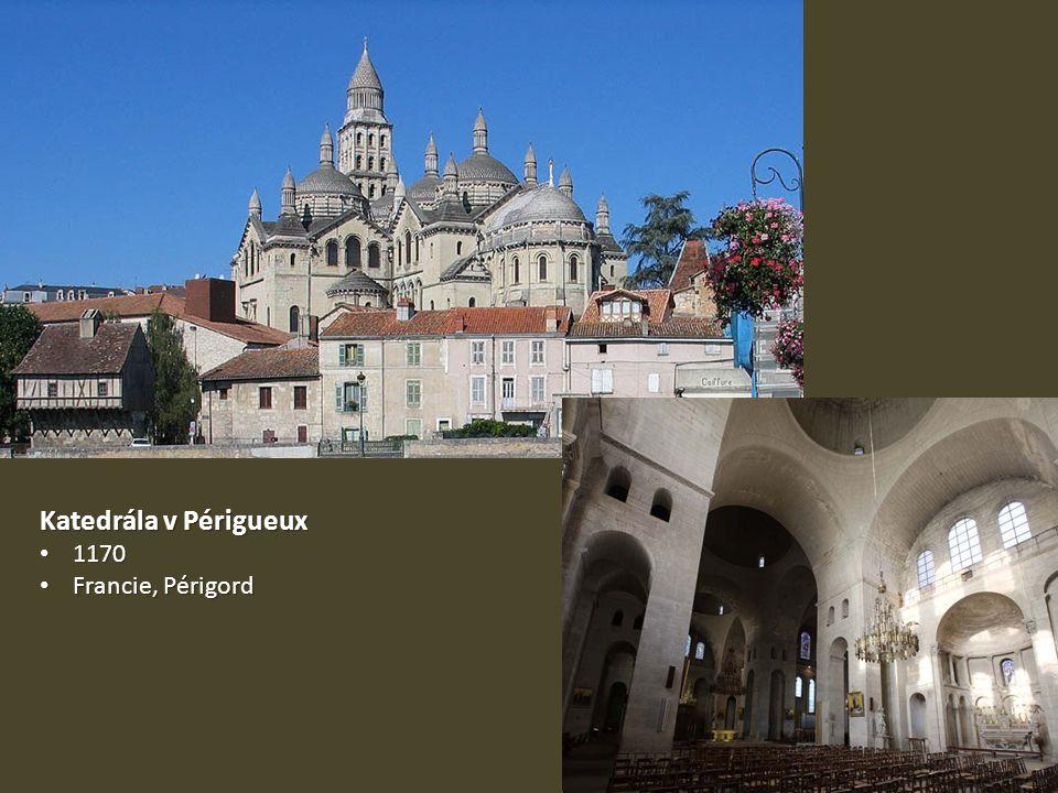 Katedrála v Périgueux 1170 Francie, Périgord