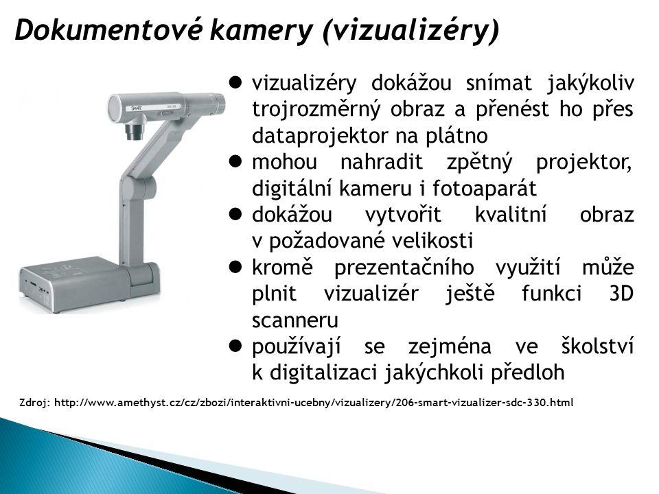 Dokumentové kamery (vizualizéry)