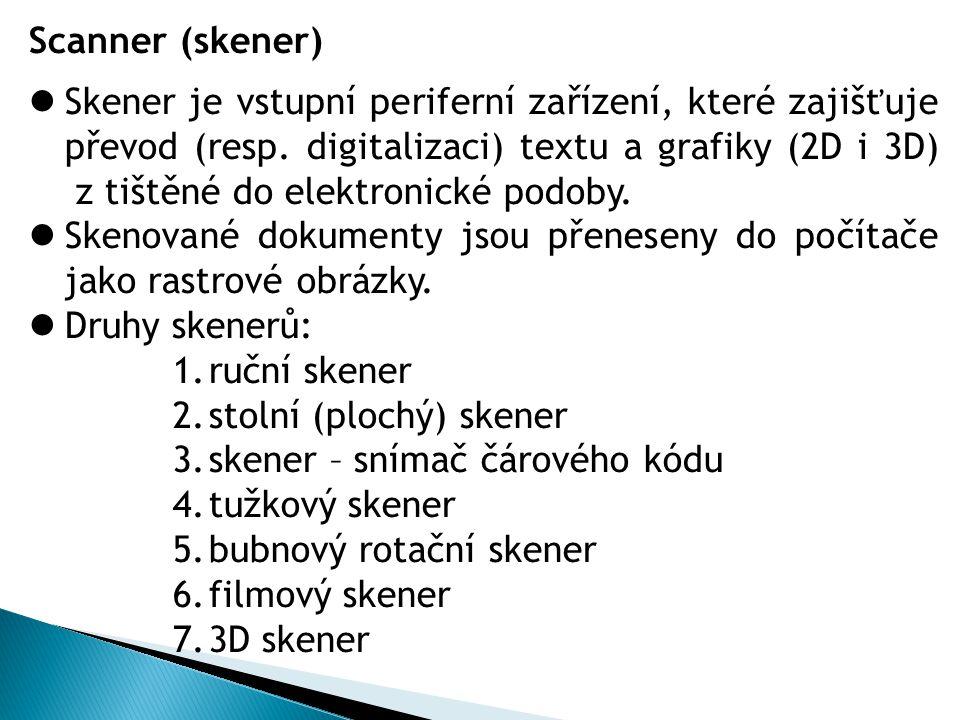 Scanner (skener)