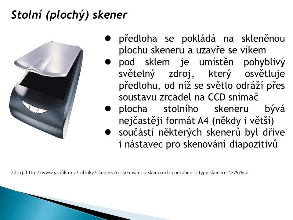 Stolní (plochý) skener
