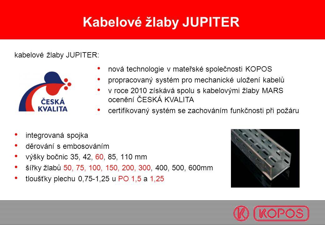 Kabelové žlaby JUPITER