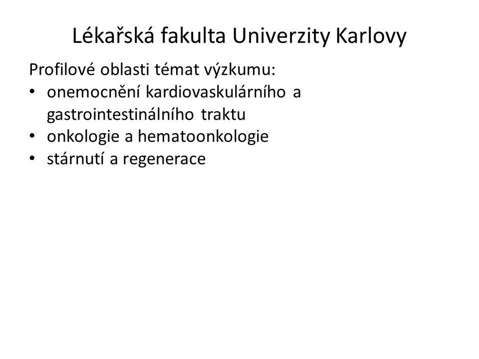Lékařská fakulta Univerzity Karlovy