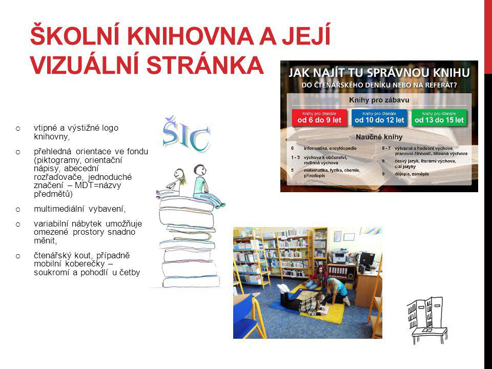 Školní knihovna a její vizuální stránka