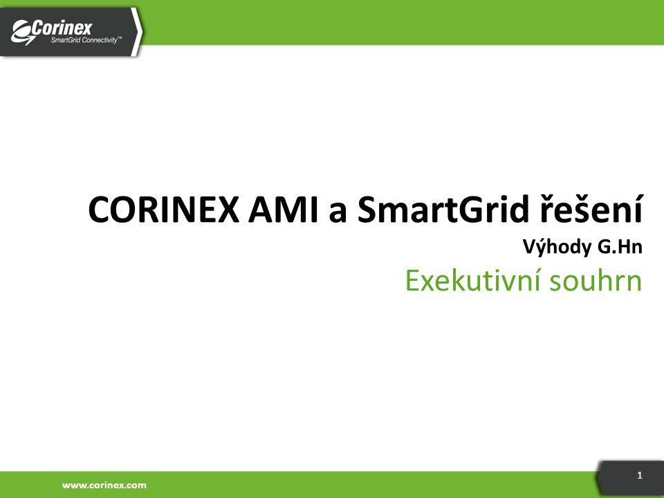 CORINEX AMI a SmartGrid řešení