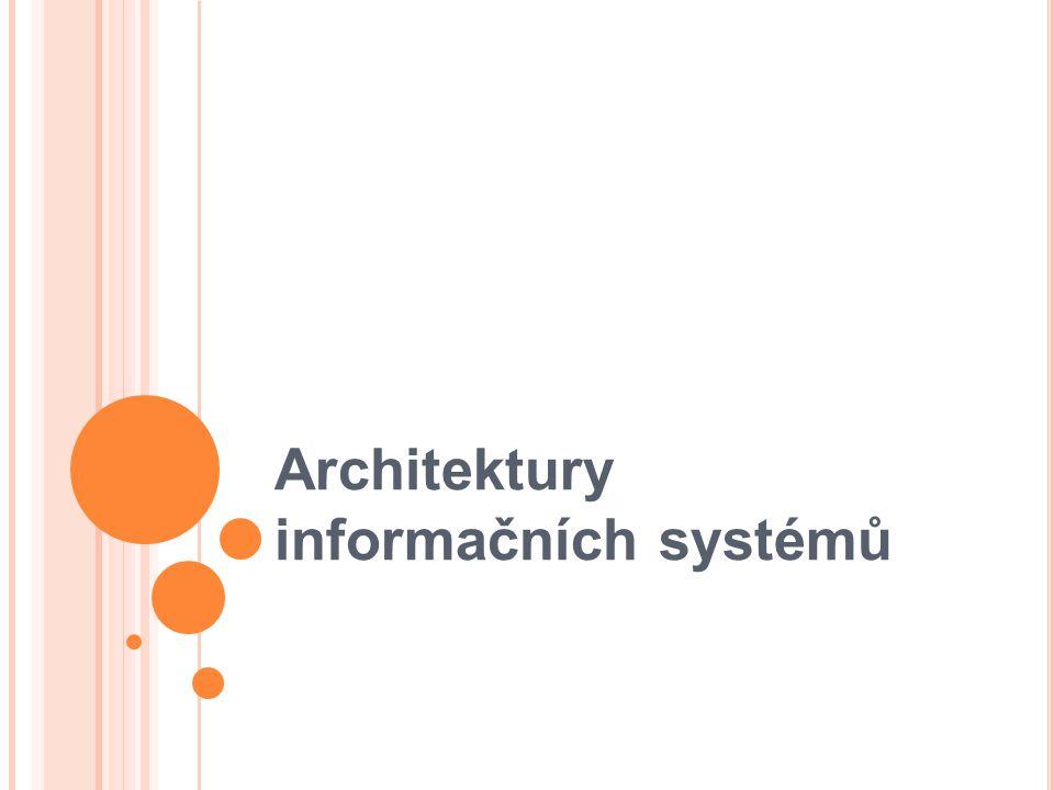 Architektury informačních systémů