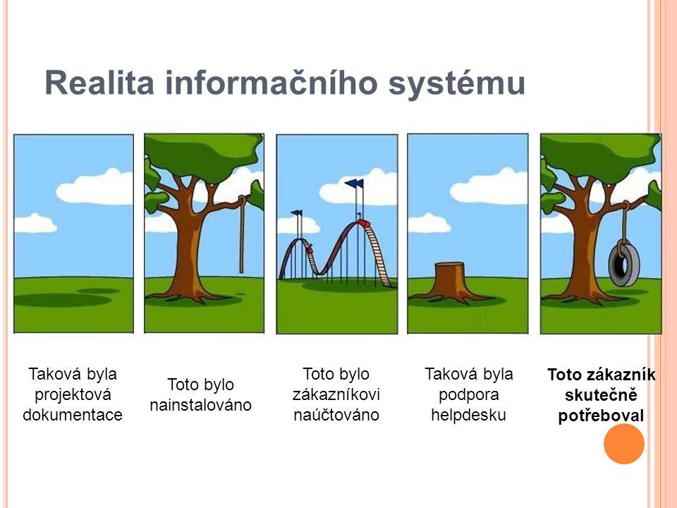 Realita informačního systému