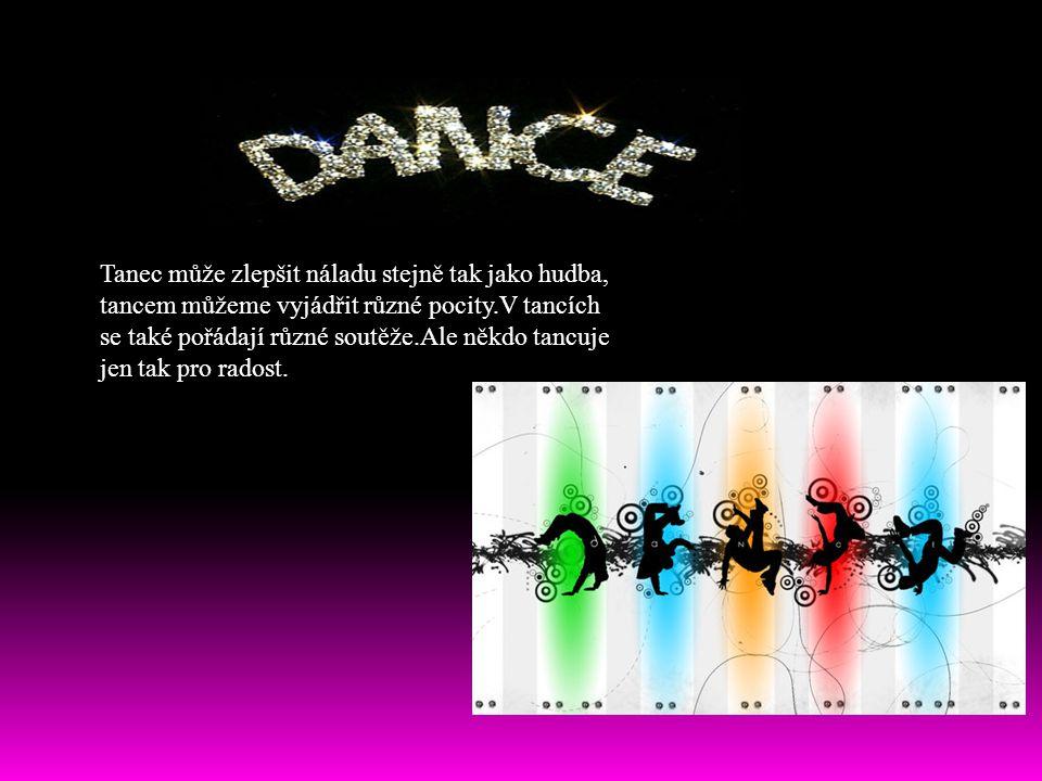 Tanec může zlepšit náladu stejně tak jako hudba,