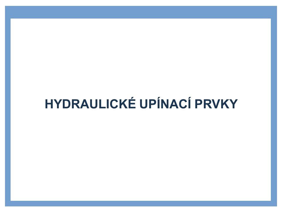Hydraulické upínací prvky
