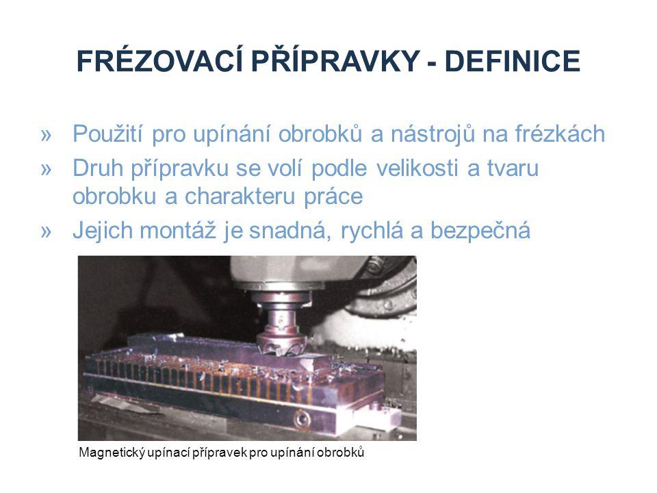 Frézovací přípravky - definice