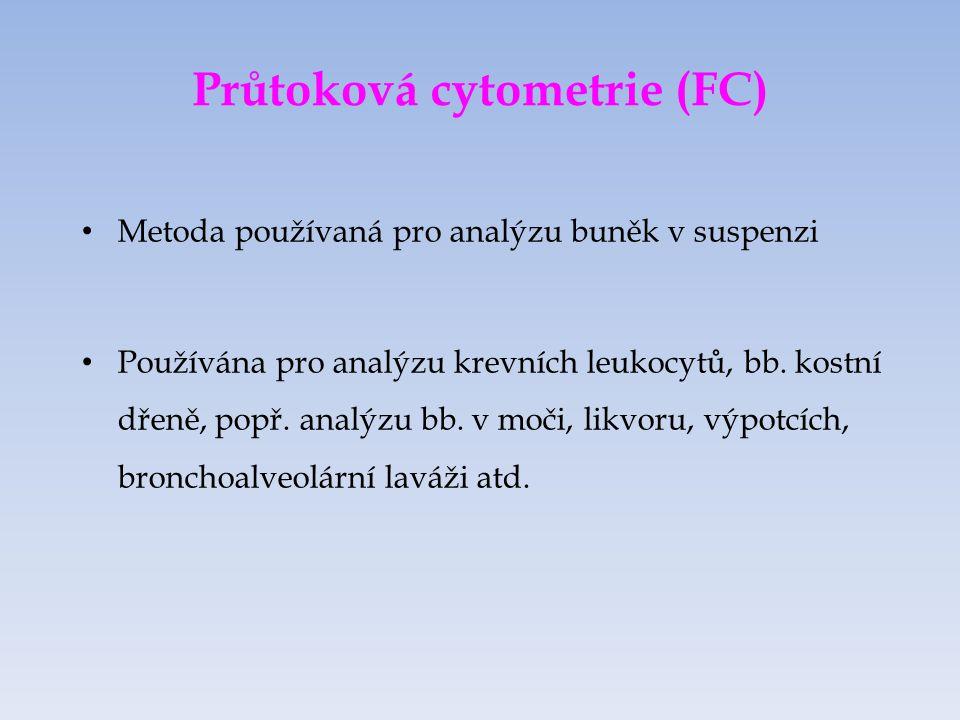 Průtoková cytometrie (FC)