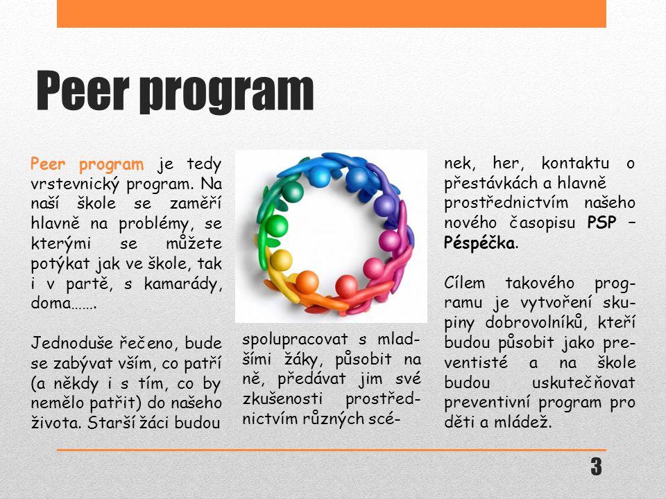 Peer program