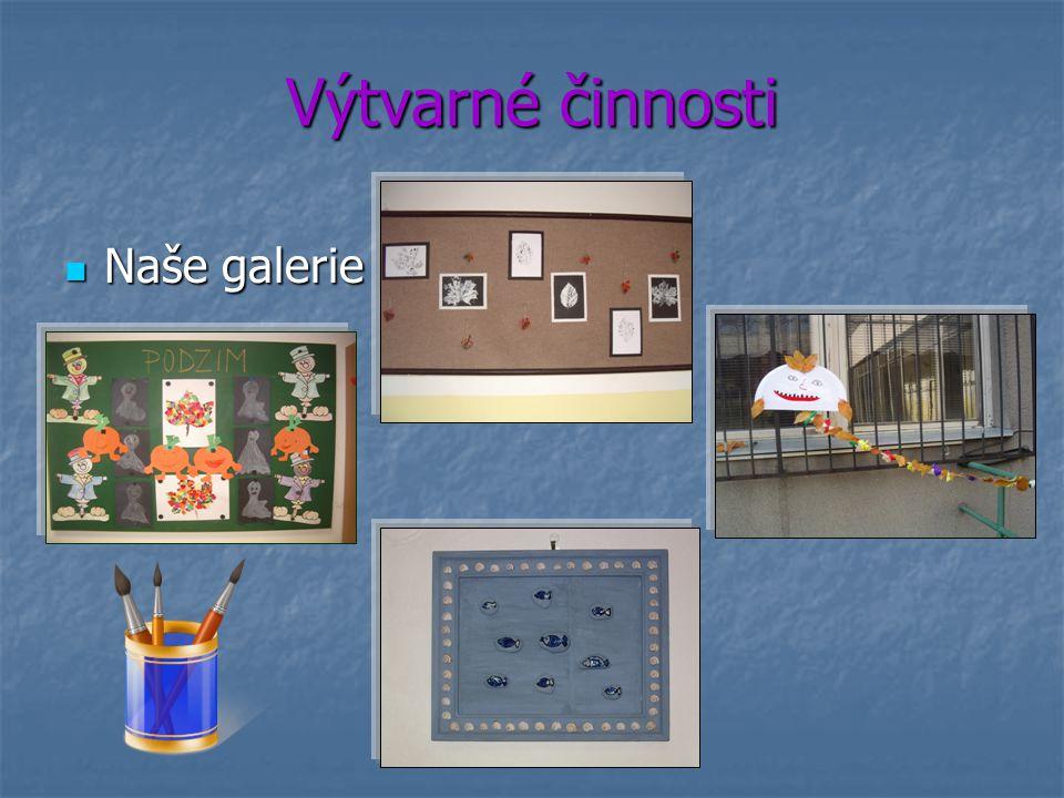 Výtvarné činnosti Naše galerie