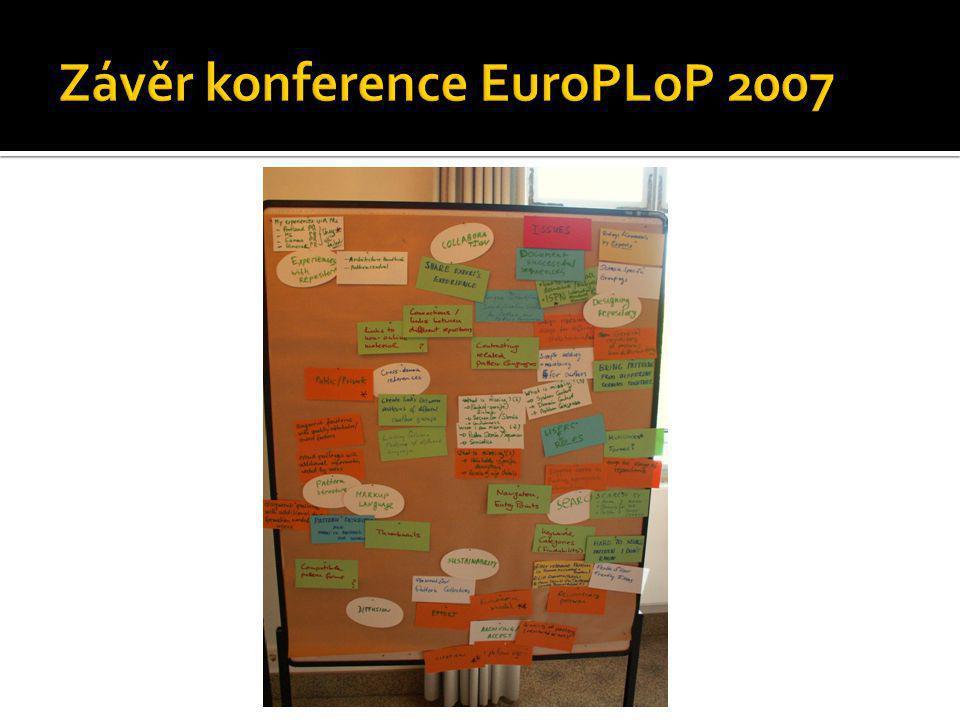 Závěr konference EuroPLoP 2007