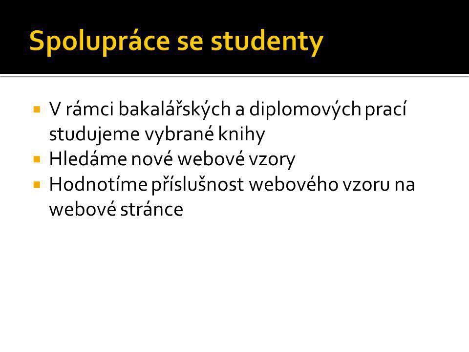 Spolupráce se studenty