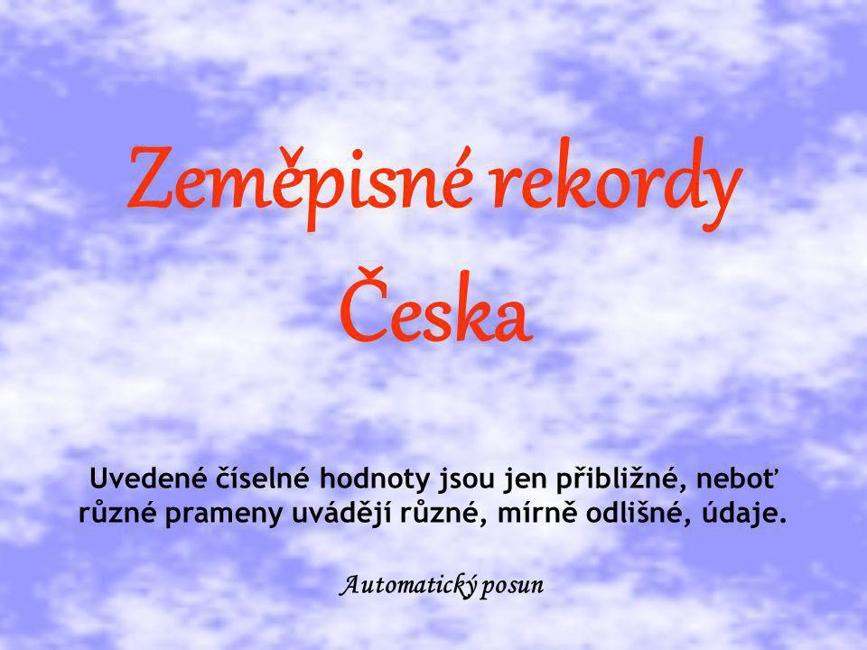 Zeměpisné rekordy Česka